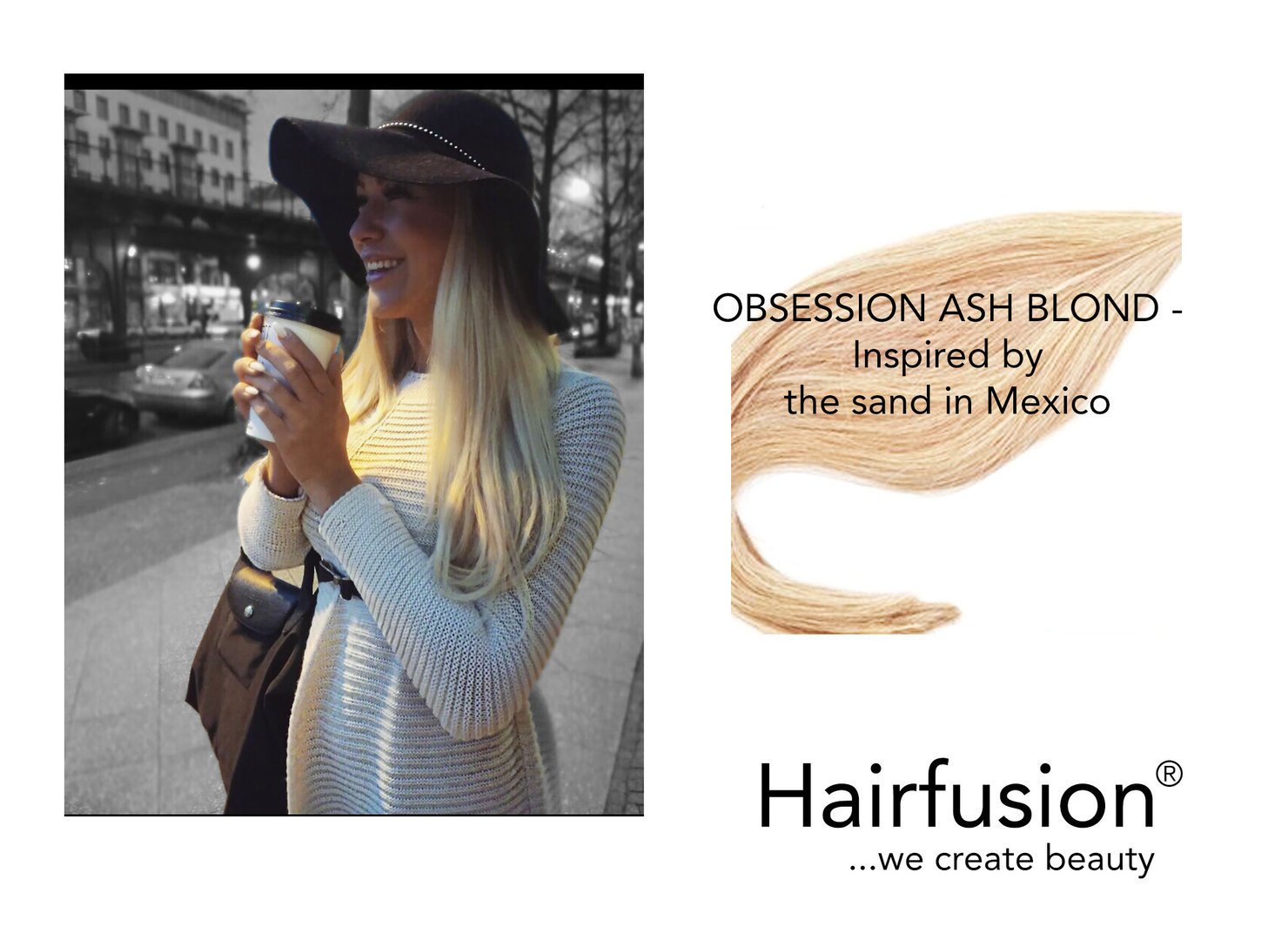 10 Echthaartapes 30-35 CM Farbe : 24 Obsession Ash Blond